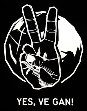 Jutebeutel Logo groß